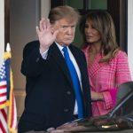 استقبال گرم ترامپ و ملانیا از رئیس جمهور کلمبیا و همسرش در کاخ سفید