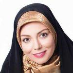 آزاده نامداری با دخترش در جشنواره فجر