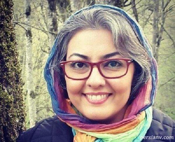 عکس محجبه آناهیتا همتی بازیگر سریال خانه به دوش