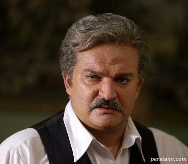 گریم مهدی سلطانی در یک سریال ترسناک