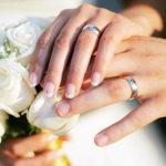 تصاویری جالب از برگزاری مراسم ازدواج در کتابخانه