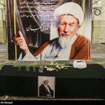 تصاویری از مراسم تشییع محمد مومن با حضور مسئولین کشور