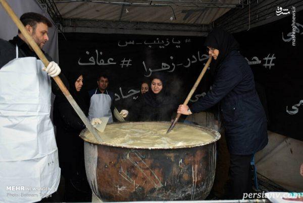 پخت سمنوی نذری