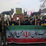 اولین تصاویر از مراسم راهپیمایی ۲۲ بهمن در تهران