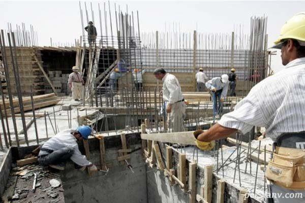 ثبت نام کارگران ساختمانی