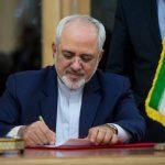 اولین پیام ظریف بعد از بازگشت به وزارت خارجه