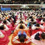 جشن فارغ التحصیلی جالب و دیدنی دختران کره ای