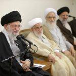تصاویری از حاشیه های دیدار اعضای مجلس خبرگان رهبری با رهبر انقلاب
