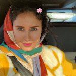 تهران گردی الناز شاکردوست در تعطیلات عید نوروز ۹۸