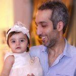 امیرمهدی ژوله و همسر و دخترش در افتتاحیه رستوران سیامک انصاری!