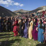 تصاویری دیدنی از برگزاری جشن نوروز در روستاهای کردستان