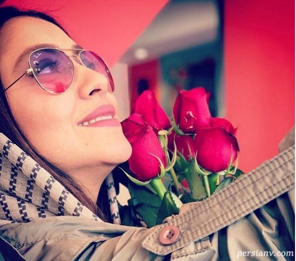 بهاره کیان افشار بازیگر ایرانی که متولد بهار است و عاشق بهار!