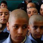 تراشیدن موی سر دانش آموزان که هنوز هم از مُد نیفتاده!!