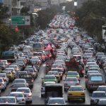 تصاویری از ترافیک خیابان های تهران در روزهای پایانی سال ۹۷!