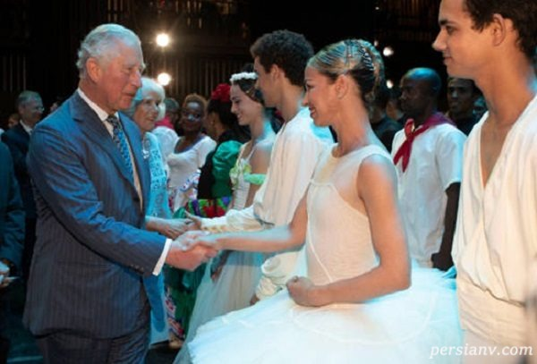 تصاویری از اولین سفر شاهزاده چارلز ولیعهد انگلیس و همسرش کامیلا به کوبا!