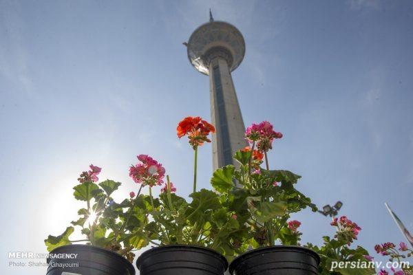 تصاویری دیدنی از زیباترین روزهای تهران در تعطیلات عید 98!