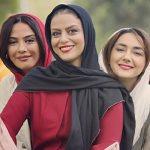 تیم اسکواش هنرمندان زن معروف ایرانی پس از درختکاری