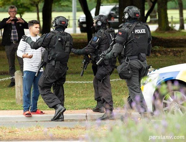 تصاویری از حادثه تیراندازی به دو مسجد نیوزیلند