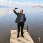 دریاچه ی ارومیه بالاخره زنده شد + تصاویر