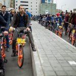 تصاویری جالب از دوچرخه سواری بانوان در پایتخت