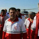 عکس حاشیه ساز رئیس هلال احمر کشور در مناطق سیل زده گلستان!!