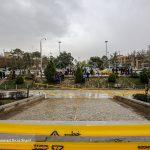 تصاویری از تخلیه مسافران از حاشیه رودخانه زاینده رود اصفهان