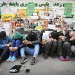 تصاویری از بازداشت ٧٧٠ نفر از مجرمان و سارقان تهران!