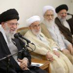 شوخی آیتالله خامنهای رهبر انقلاب با سن آیت الله جنتی!
