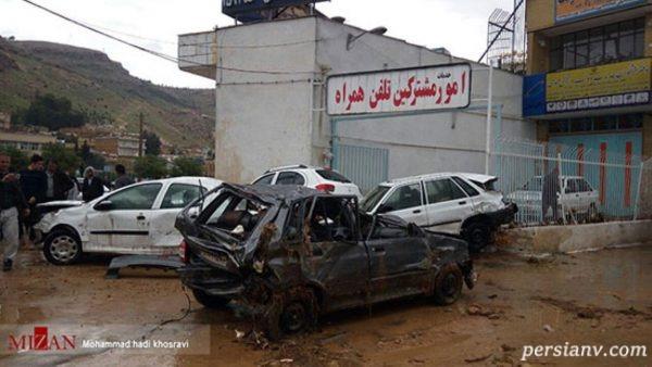 سیل امروز شیراز