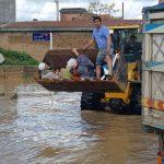تصاویری از آخرین وضعیت سیل در گلستان و امدادرسانی به سیل زدگان!