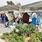 تصاویری دیدنی از طرح استقبال از بهار با تخم مرغ های نوروزی