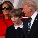 انتشار عکس های جدید از بارون پسر ترامپ خبرساز شد!!