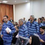 تصویری از غشکردن متهم اقتصادی در حاشیه برگزاری دادگاه!!
