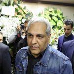 تصاویری از حضور هنرمندان معروف در مراسم ترحیم خشایار الوند