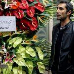 در حاشیه مراسم ختم خشایار الوند | بازار داغ عکس یادگاری با هنرمندان!