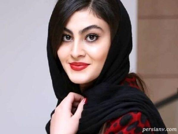 عکس جدید مریم مومن (بازیگر بانوی عمارت) روی سقف ماشین !!