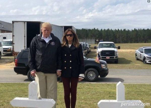 ملانیا ترامپ قلابی