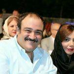 اولین عکس سه نفره مهران غفوریان و همسر و دخترش