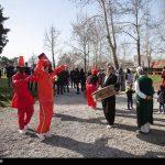 تصاویری دیدنی از مهمانان نوروزی در کرمانشاه