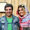 تصاویری تلخ از الهام ایمانی همسر خشایار الوند و فرزندش در مراسم تشییع