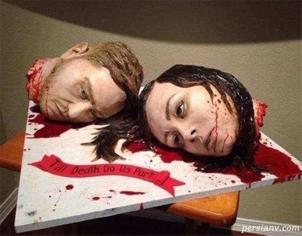 کیک عروسی وحشتناک