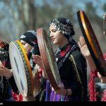 تصاویری دیدنی از جشن نوروز ۹۸ در طاقبستان کرمانشاه
