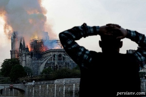 ذوق زدگی داعش از آتش سوزی کلیسای نوتردام پاریس