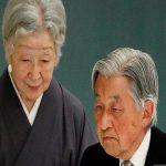 تصاویر دیدنی از مراسم شتصمین سالگرد ازدواج امپراتور ژاپن و همسرش!