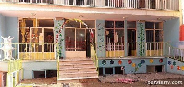 انفجار گاز شهری در مدرسه ابتدایی در شهر زیبا