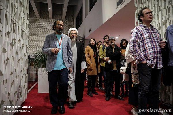 اولین روز جشنواره جهانی فیلم فجر با حضور هنرمندان