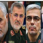 واکنش های تند به مسدود کردن حساب اینستاگرام فرماندهان سپاه!!