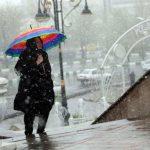 تصاویری از جولان سرما و بارش برف در بهار ۹۸!!