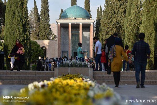 تصاویری از اولین بزرگداشت سعدی در شیراز پس از سیل اخیر!