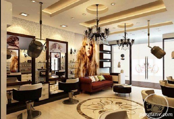 سوژه شدن روش عجیب تبلیغ آرایشگاه زنانه با حضور یک زن در بابل !!!